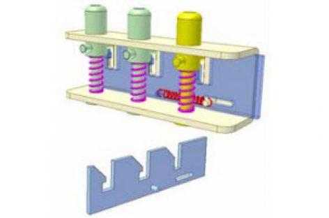 [Mô phỏng cơ cấu cơ khí] Công tắc chọn tốc độ dùng cho quạt bàn 1