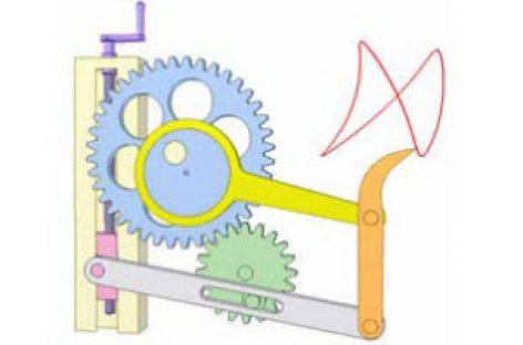 [Mô phỏng cơ cấu cơ khí] Bánh răng và cơ cấu thanh 4