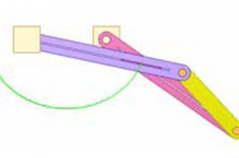 [Mô phỏng cơ cấu cơ khí] Cơ cấu bình hành nghịch 4