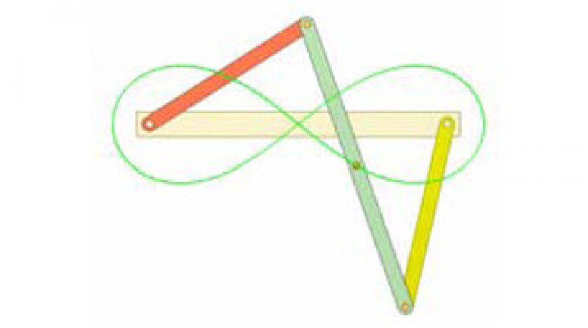 [Mô phỏng cơ cấu cơ khí] Cơ cấu bình hành nghịch 6