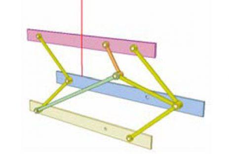 [Mô phỏng cơ cấu cơ khí] Cơ cấu hình diều 5a