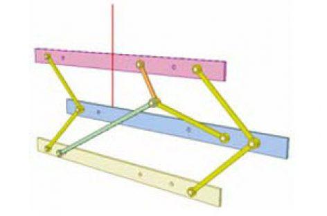 [Mô phỏng cơ cấu cơ khí] Cơ cấu hình diều 5b