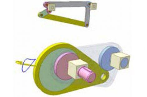 [Mô phỏng cơ cấu cơ khí] Cơ cấu thanh cho quỹ đạo phức tạp 1