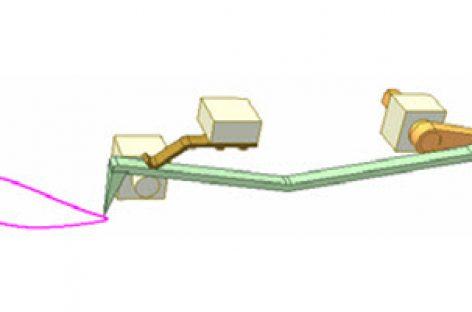 [Mô phỏng cơ cấu cơ khí] Cơ cấu thanh có lò xo 3