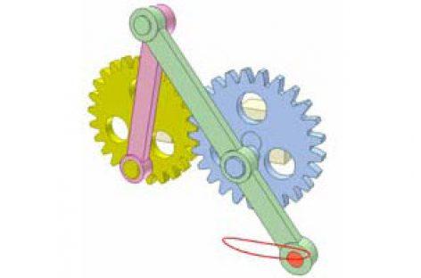 [Mô phỏng cơ cấu cơ khí] Cơ cấu thanh và bánh răng 15