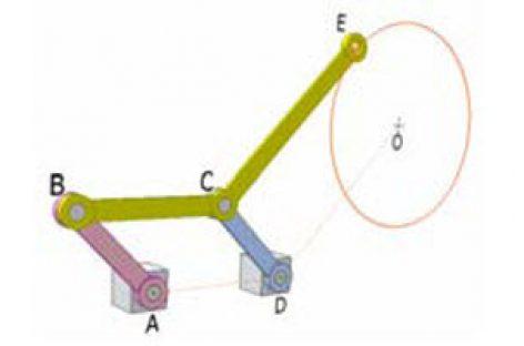 [Mô phỏng cơ cấu cơ khí] Cơ cấu vẽ đường tròn 5