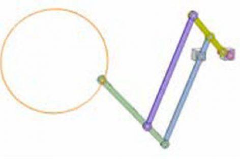 [Mô phỏng cơ cấu cơ khí] Cơ cấu vẽ đường tròn 6