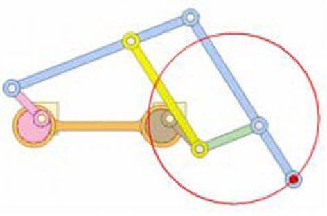 [Mô phỏng cơ cấu cơ khí] Cơ cấu vẽ đường tròn 7