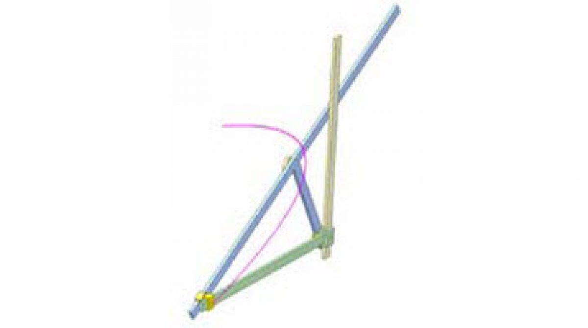 [Mô phỏng cơ cấu cơ khí] Cơ cấu vẽ parabol 1