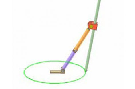 [Mô phỏng cơ cấu cơ khí] Conic section compass 1
