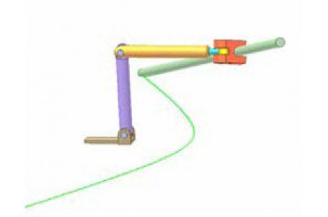 [Mô phỏng cơ cấu cơ khí] Conic section compass 3