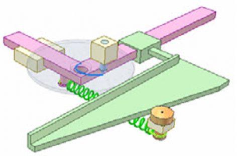 [Mô phỏng cơ cấu cơ khí] Dụng cụ vẽ đường xoắn Acsimet 1