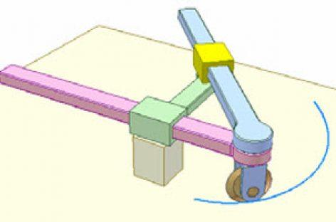 [Mô phỏng cơ cấu cơ khí] Dụng cụ vẽ đường xoắn Acsimet 2