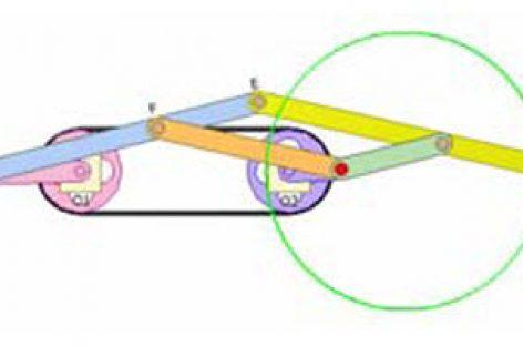 [Mô phỏng cơ cấu cơ khí] Vẽ đường tròn bằng cơ cấu pantograph