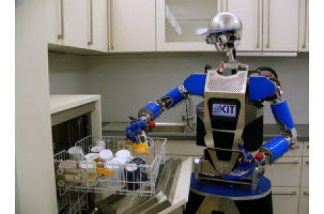 """[Hannover Messe 2018] """"Đồng nghiệp"""" Robot hỗ trợ ngành bán lẻ"""