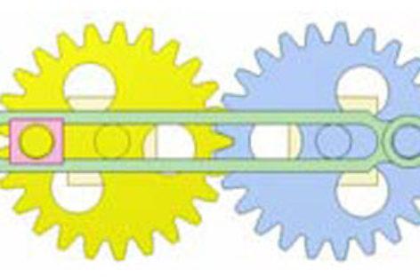 [Mô phỏng cơ cấu cơ khí] Bánh răng và cơ cấu thanh 8a