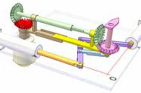 [Mô phỏng cơ cấu cơ khí] Điều khiển chuyển động phẳng 2b
