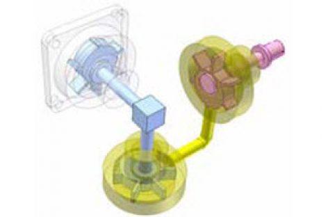 [Mô phỏng cơ cấu cơ khí] Điều khiển khớp cầu 1
