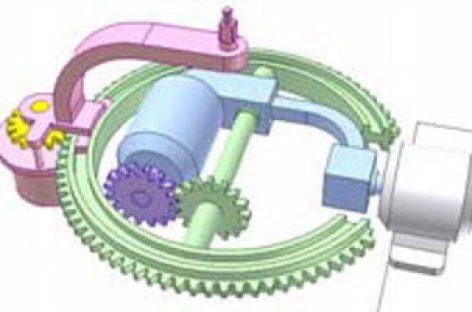 [Mô phỏng cơ cấu cơ khí] Điều khiển khớp cầu 2