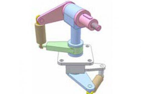 [Mô phỏng cơ cấu cơ khí] Điều khiển khớp cầu 2 DoF 1