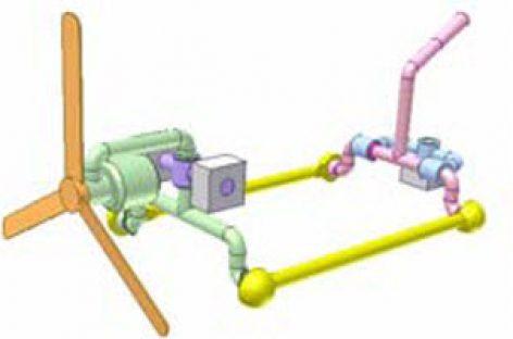 [Mô phỏng cơ cấu cơ khí] Điều khiển khớp cầu 2 DoF 4