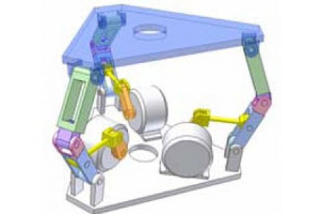 [Mô phỏng cơ cấu cơ khí] Khớp trục Canfield 1