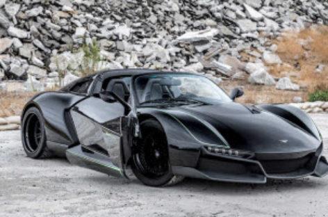 Siêu xe lấy cảm hứng từ chiến đấu cơ nhanh nhất thế giới