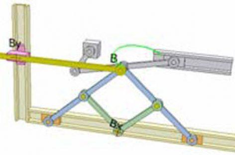 [Mô phỏng cơ cấu cơ khí] Xác định hình chiếu của một điểm lên đường thẳng