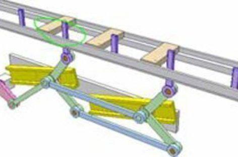 [Mô phỏng cơ cấu cơ khí] Cơ cấu vận chuyển 2