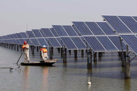 Trung Quốc hoàn thành trang trại năng lượng mặt trời lớn nhất thế giới