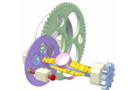[Mô phỏng cơ cấu cơ khí] Bộ khống chế tốc độ cho động cơ lò xo