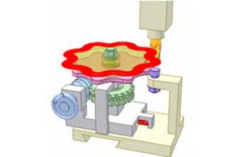 [Mô phỏng cơ cấu cơ khí] Chép hình trên máy phay đứng 2
