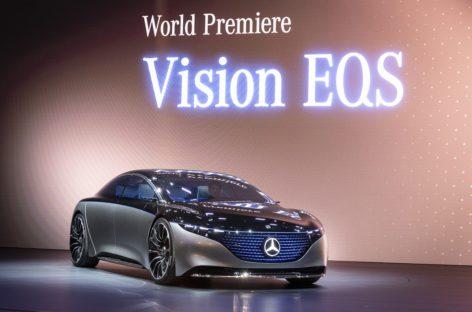 [IAA 2019] Mercedes Benz tiết lộ các dòng xe Vision EQS mới tại IAA 2019