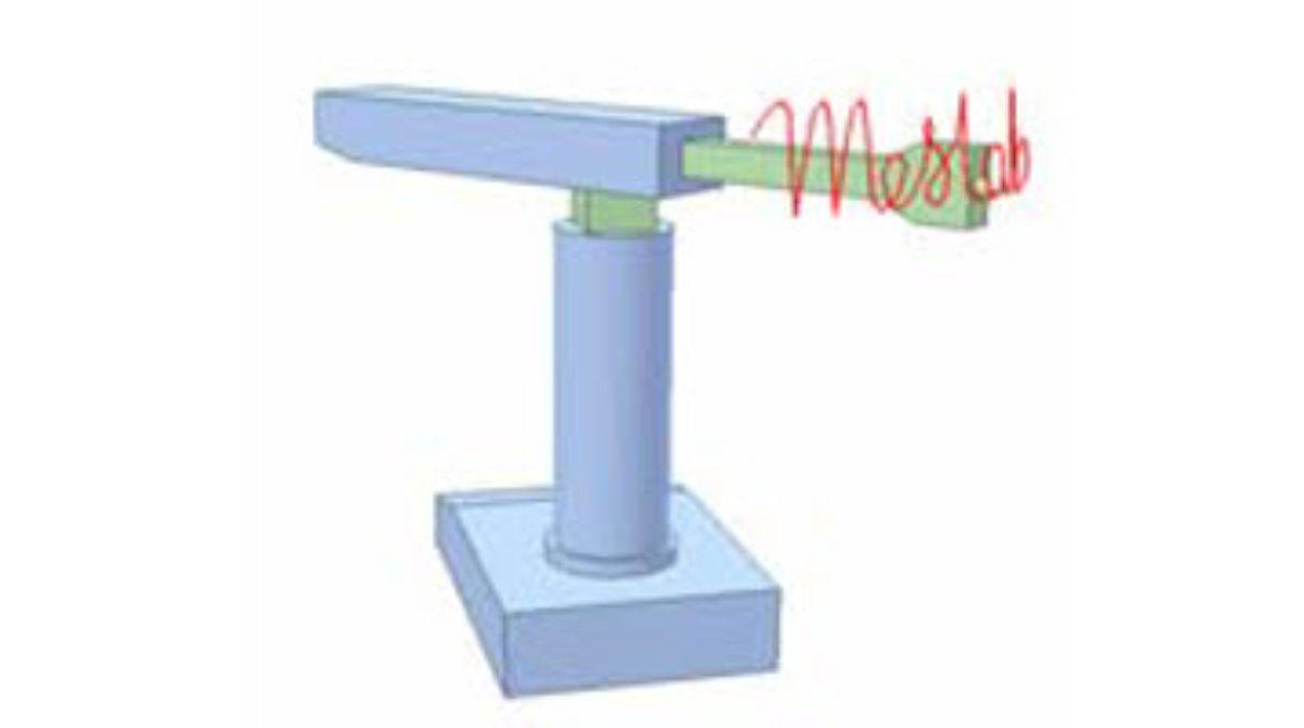 [Mô phỏng cơ cấu cơ khí] Rô bốt viết chữ, mô phỏng trong Inventor