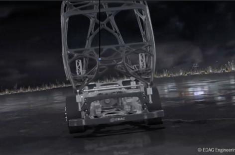 EDAG giới thiệu khung gầm xe tải dạng module linh hoạt