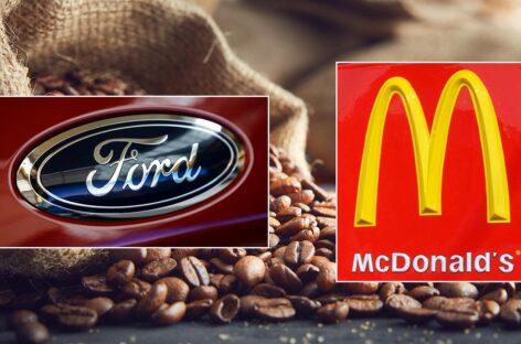 Ford tận dụng vỏ trấu cà phê để sản xuất các bộ phận của ô tô