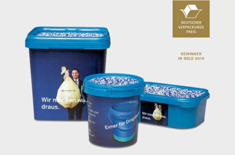 Bao bì làm từ nhựa tái chế đến từ Pöppelmann FAMAC