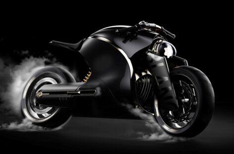 Chiếc mô tô sang trọng lấy cảm hứng từ thương hiệu Montblanc