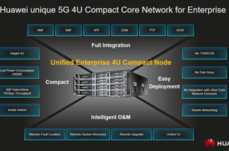 Mạng lõi 5G nhỏ gọn của Huawei dành cho doanh nghiệp