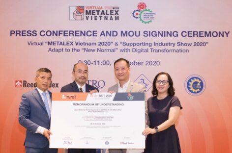 """Lễ ký kết hợp tác """"METALEX Vietnam 2020"""" & """"Triển lãm Công nghiệp Hỗ trợ 2020"""""""