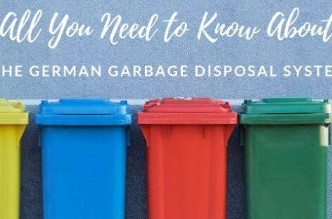 Những gì bạn cần biết về hệ thống xử lý rác tại CHLB Đức