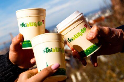 CHLB Đức giới thiệu giải pháp xử lý cho cốc cà phê dùng một lần – Freiburg Cup