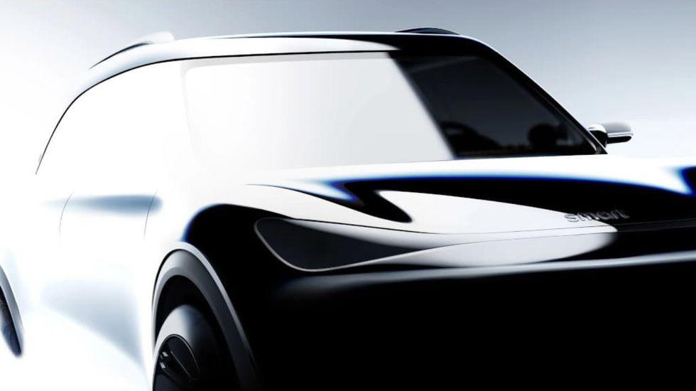Smart ra mat y tuong moi ve mau xe SUV va do co the la su dot pha vuot bac
